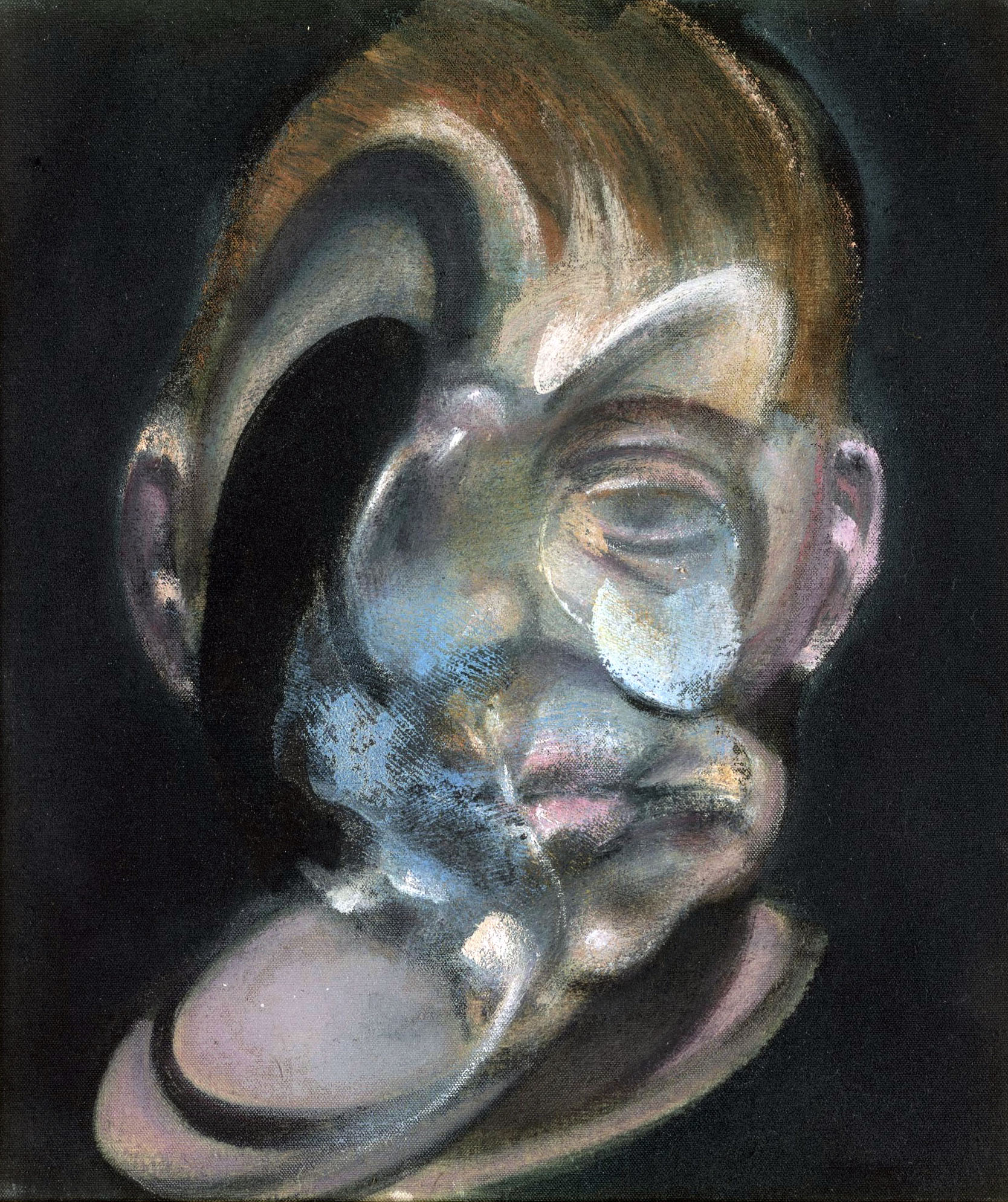 francis bacon the portraits Francis bacon produced some of the most iconic images of wounded and traumatized humanity in post-war art borrowing inspiration from surrealism, film, photography, and the old masters, he forged a distinctive style that made him one of the most widely recognized exponents of figurative art in the 1940s and 1950s.
