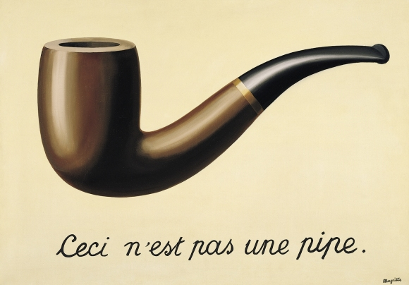 René Magritte - The Treachery of Images