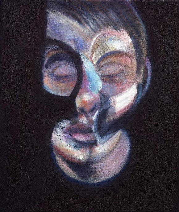 Francis Bacon - Portrait of Lucian Freud
